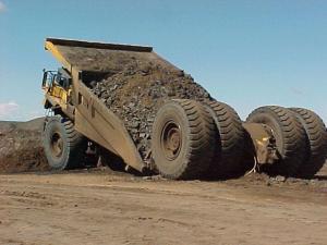 Dump truck fail