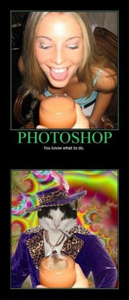 Photoshop - You know what you must do