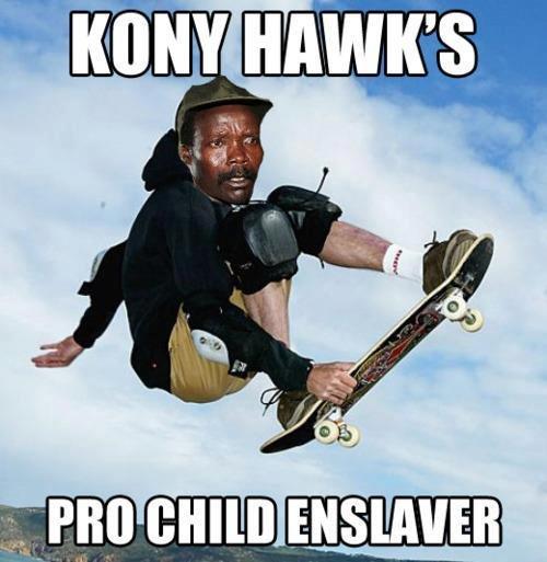 Joseph Kony, pro child enslaver