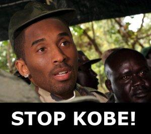 Stop Kony. Oh wait. Kobe?