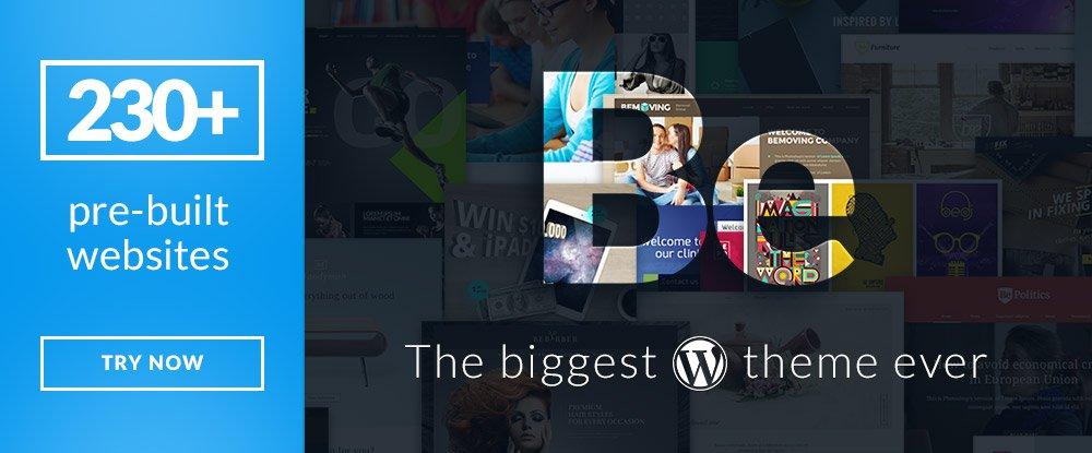 Be Theme – Responsive Multi-Purpose WordPress Theme