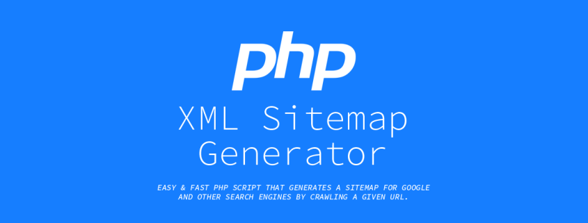 PHP-XML-Sitemap-Generator