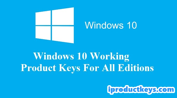 Windows 10 Product Keys 2020 (FREE) ᐈ All Version Daily Update