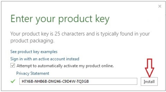 Microsoft Office 2013 Product Key For All Version [Updated