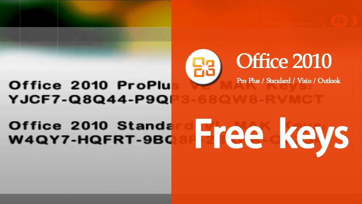 Microsoft Office 2010 Working Product Key - Professional Plus Free Activation