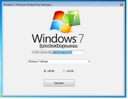 need a windows 7 activation key