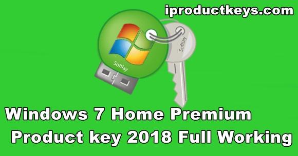 free windows 7 home premium key