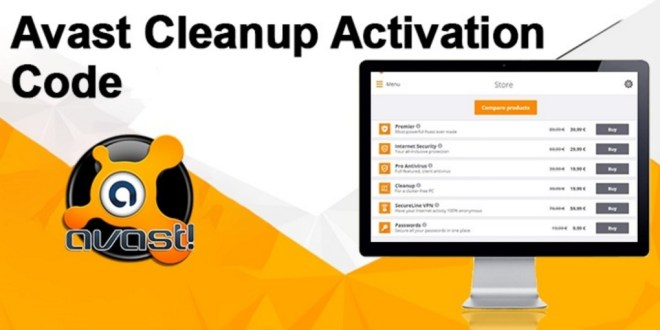 Avast Cleanup Activation Code | (Working 2019) | Avast Premier