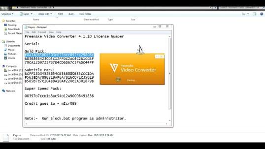 Freemake Video Converter Key | Gold 4 Serail Keys | 100