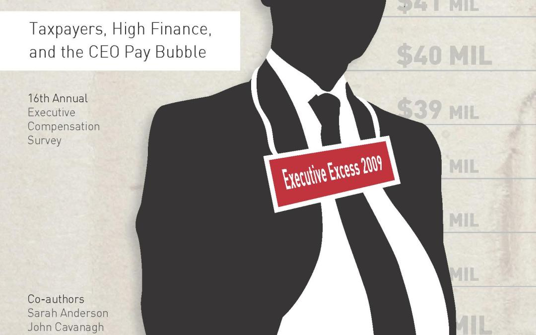 Executive Excess 2009: America's Bailout Barons