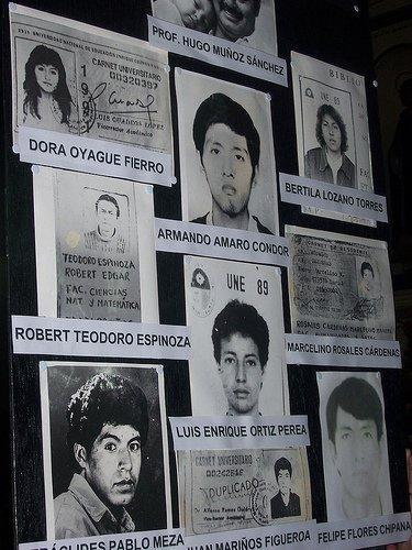 Fujimori Faces Justice