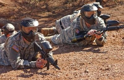 Nat'l Guard troops on border duty. Credit: US Military
