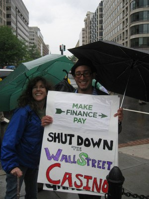 K Street protest