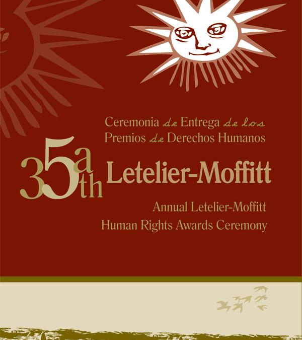 35th Annual Letelier-Moffitt Human Rights Awards
