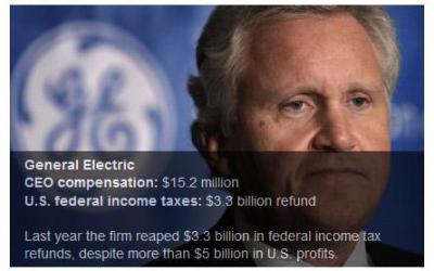Jeff Immelt, GE CEO – Corporate Tax Dodger