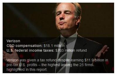 Ivan Seidenberg – Corporate Tax Dodger