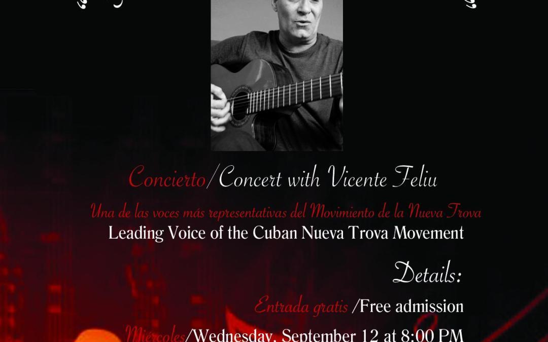 Concert: 5 Franjas y una Estrella with Vincente Felui