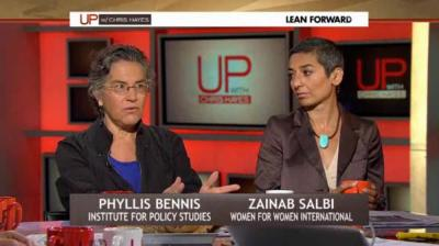 Phyllis Bennis discusses the Middle East on 'Up with Chris'