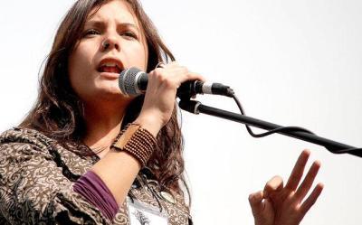 Camila Vallejo speaks