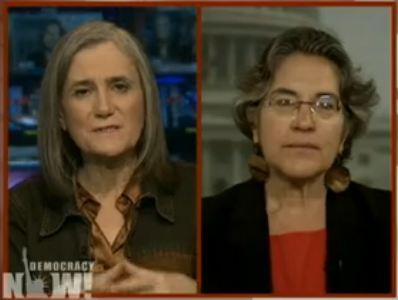 """Phyllis Bennis on Democracy Now!: """"Israel More Isolated than Hamas"""""""