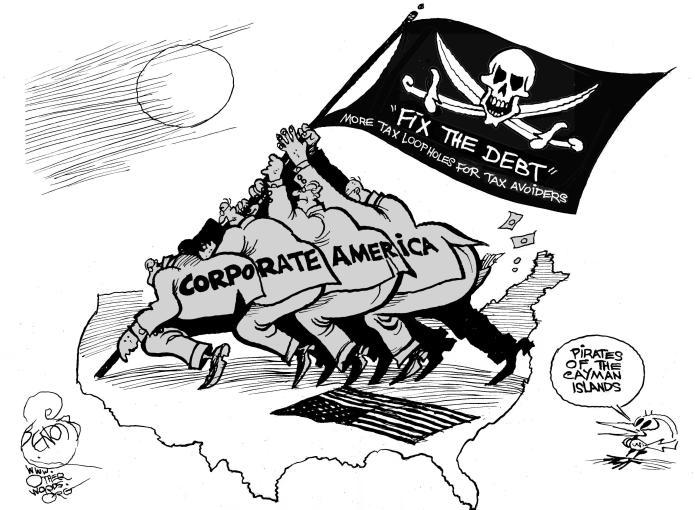 Fix the Debt Pirates of the Caribbean - cartoon