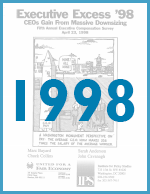 Executive Excess 1998: CEOs Gain From Massive Downsizing