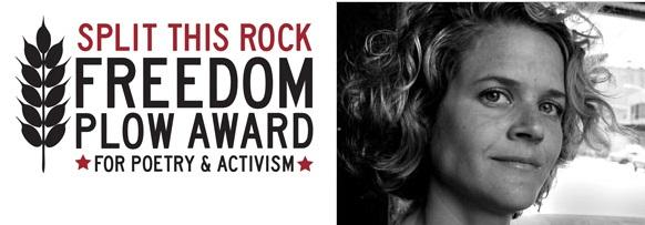 Inaugural Freedom Plow Award for Poetry & Activism