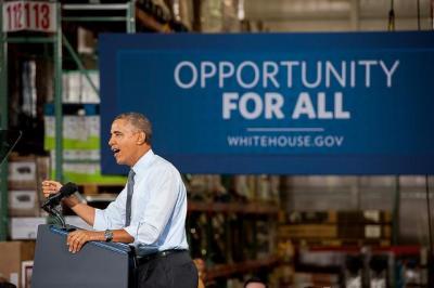 President Obama speaks on raising the minimum wage (Flickr/Maryland GovPics)