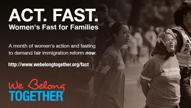 Women's Fast for Families on the National Mall