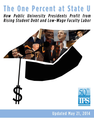 One Percent State Universities Report Cover