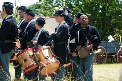 civil-war-reenactment-drummer-boys