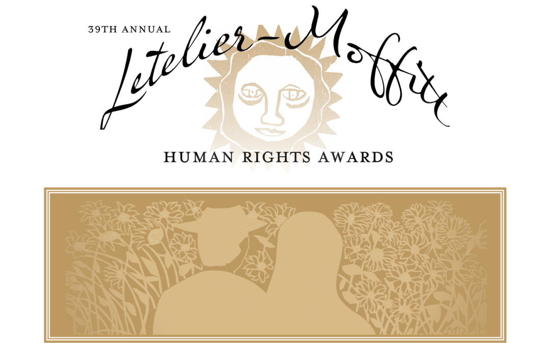 39th Annual Letelier-Moffitt Human Rights Awards