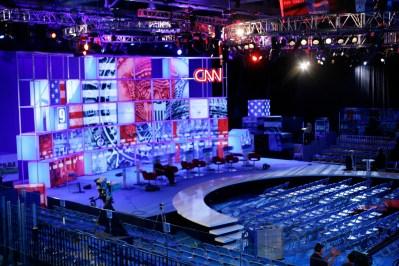 cnn debate stage
