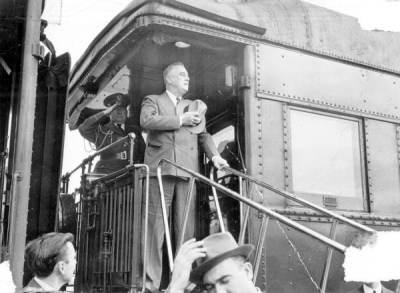 FDR on train