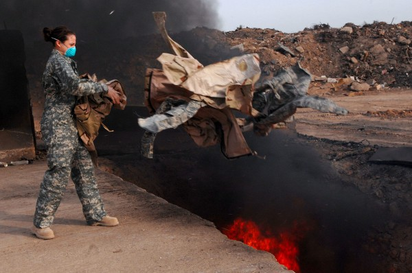 The Pentagon is Trying to Cover Up the Toxic Effects of its Deadly Burn Pits