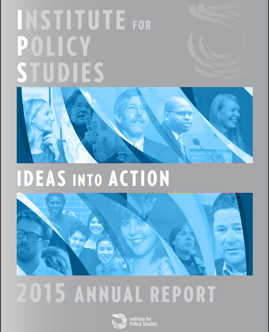 Ideas Into Action: 2015 Annual Report