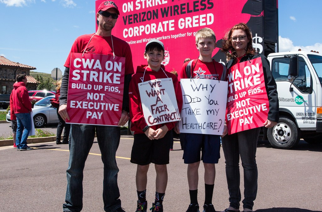Inequality is at the Heart of the Verizon Strike