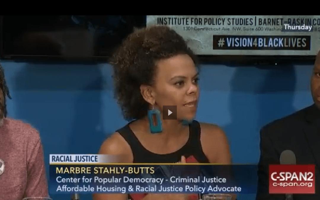 C-SPAN: The Emerging Racial Justice Agenda