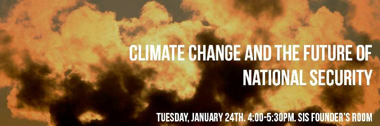 Climate Change and the Future of National Security