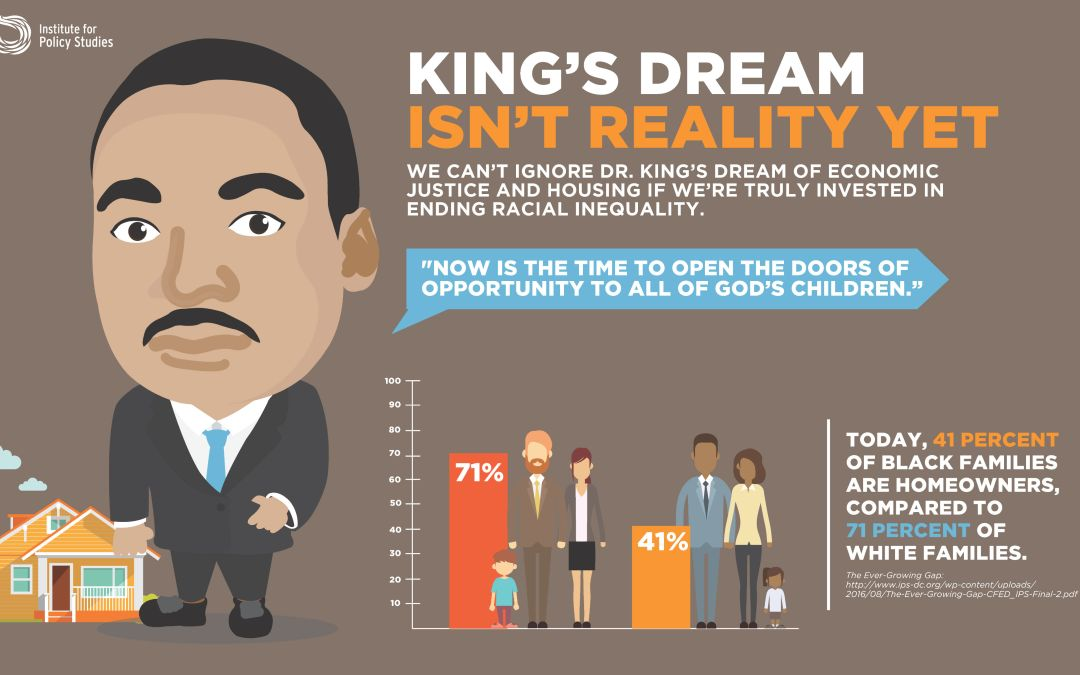For Black Americans, MLK's Dream Still Isn't Reality