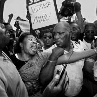 Haitian Immigrants Rallying