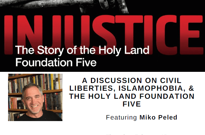 Author Event: Injustice: The Story of The Holy Land Foundation Five