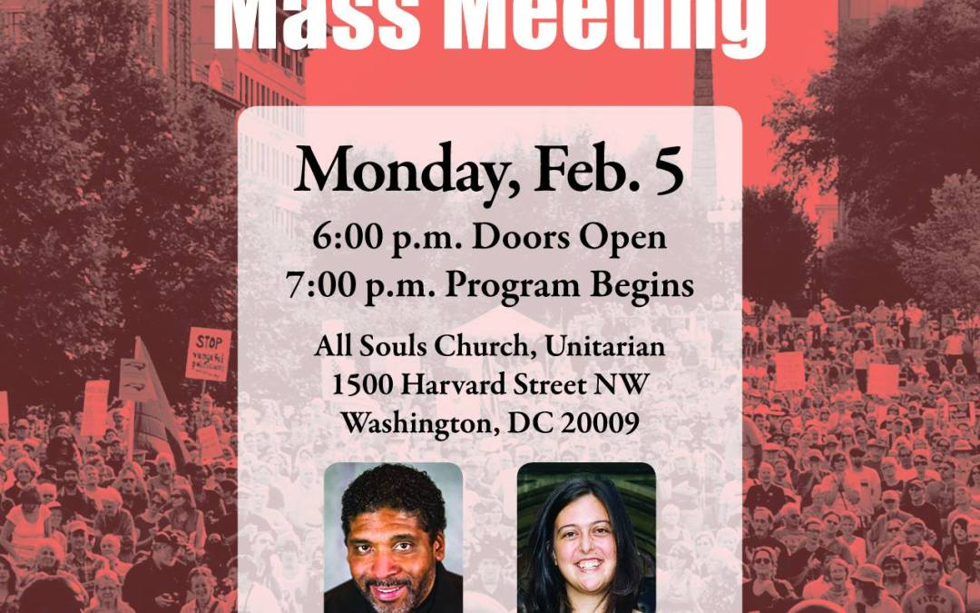 Poor People's Campaign: Mass Meeting in Washington, D.C.
