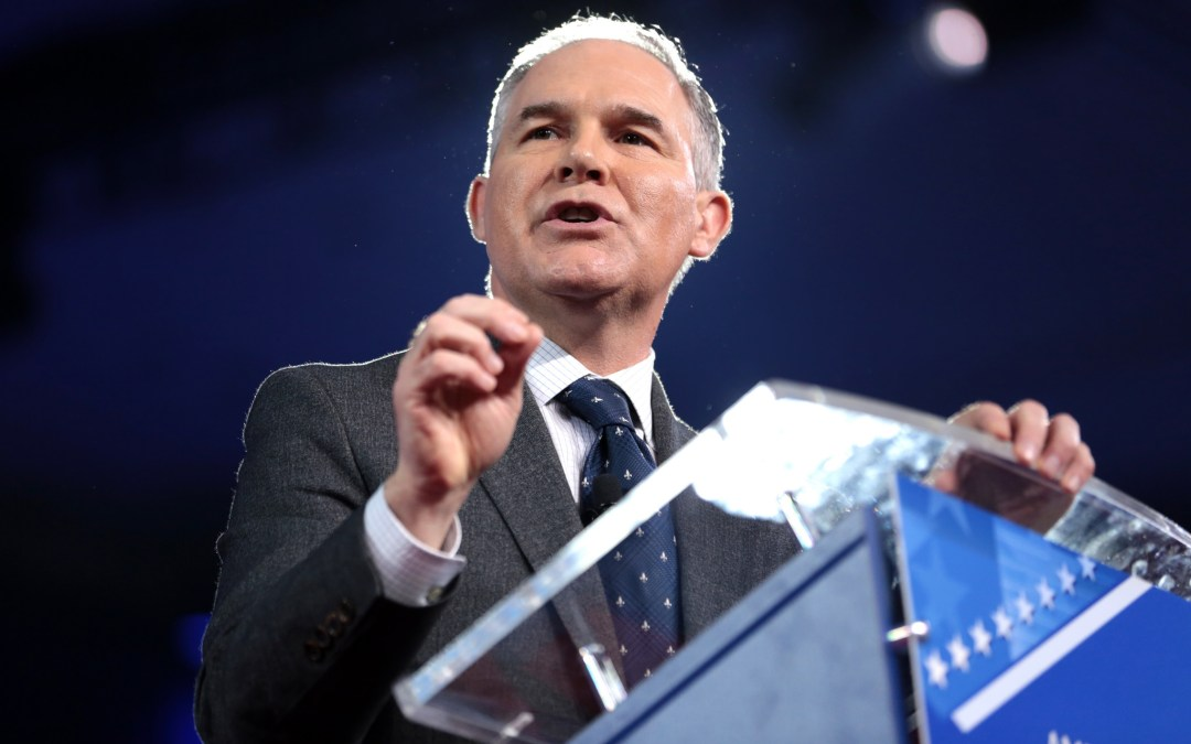 Will Greed Be the EPA Leader's Downfall?