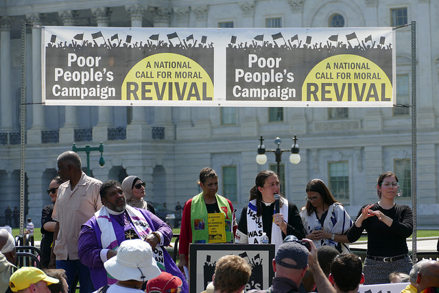 Hundreds of Poor People's Campaign Activists Got Themselves Arrested for Racial Justice