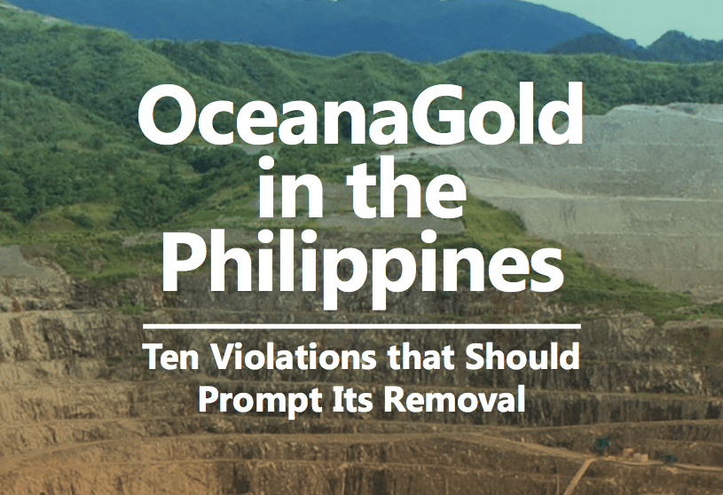 Time For Duterte to Shut Down This Mining Company
