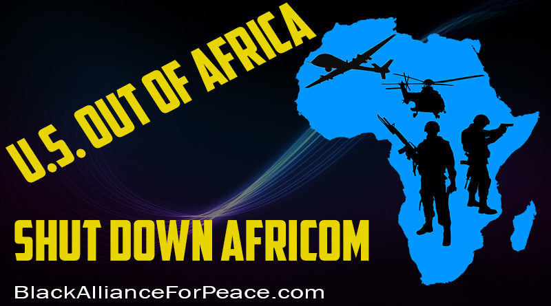 U.S. Out of Africa — Shut Down AFRICOM