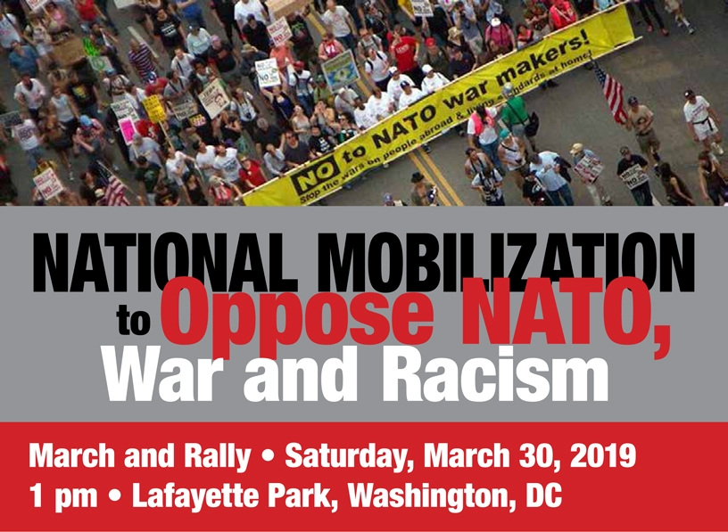 National Mobilization to Oppose NATO, War, and Racism
