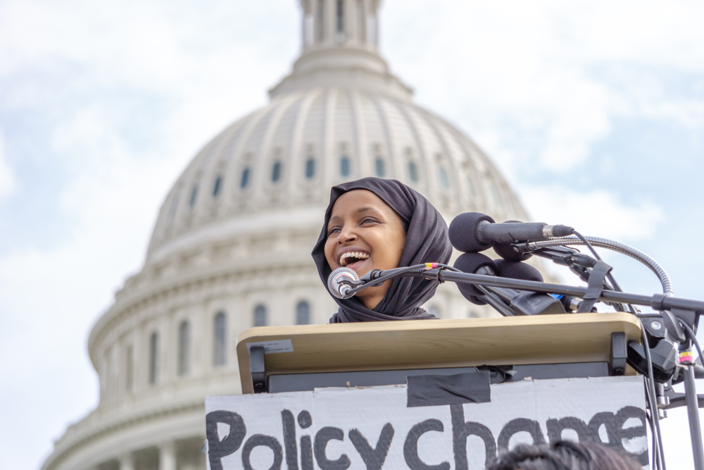 Progressive Leaders Unite to Denounce Trump's Attacks on Rep. Ilhan Omar