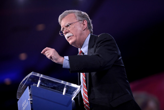 Trump, Bolton in Tug of War for Command of Foreign Policy